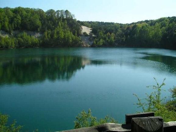 Wapnica - jeziorko Turkusowe - Pobierowo noclegi