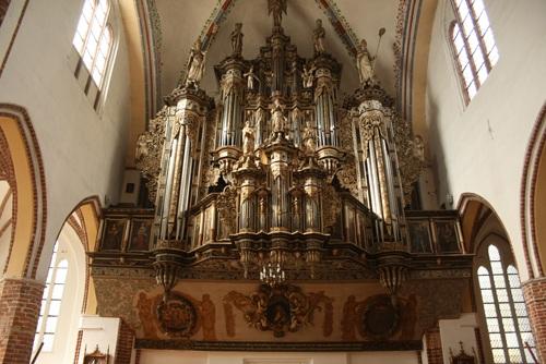 Kamień Pomorski – zabytkowe organy w katedrze - Pobierowo noclegi